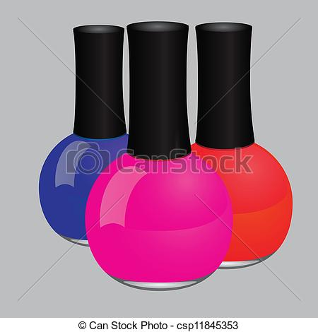Nail Polish Drawing Clipart - Clipart Suggest
