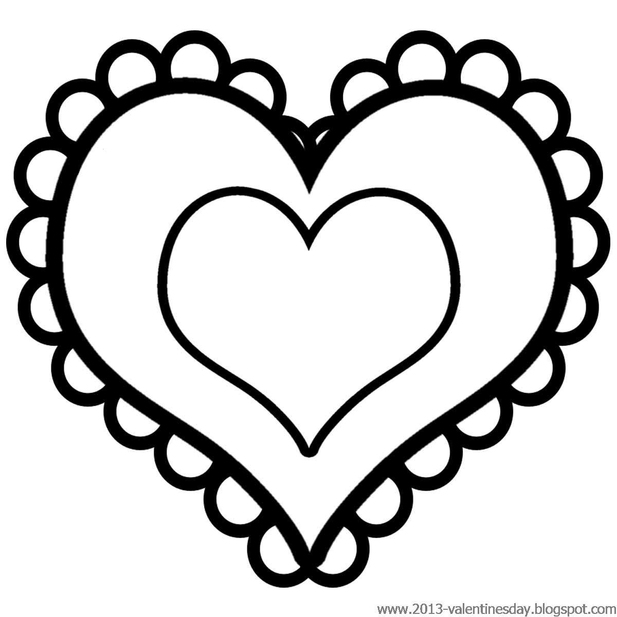 Heart Vector   Black And White Heart Clip Art
