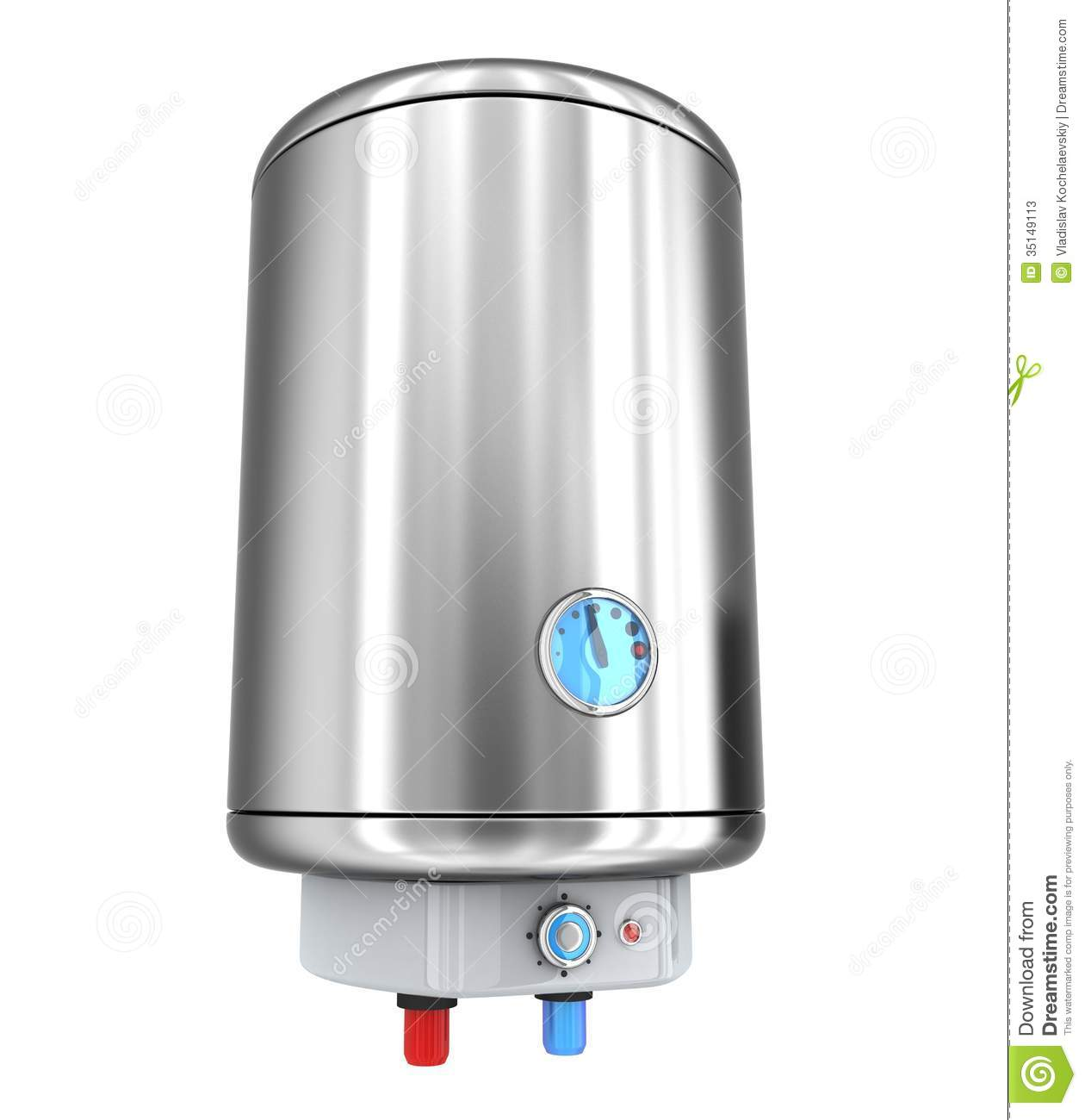Heater Clipart Water Heater On White