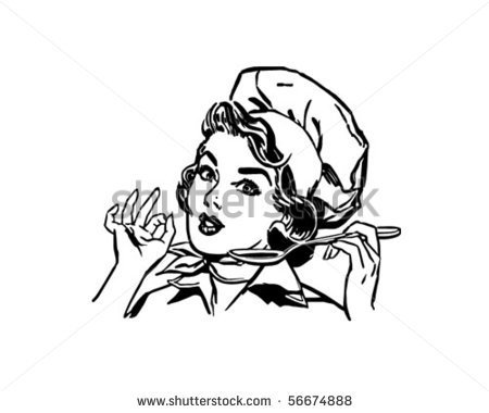 Retro Housewife Stock Photos Images   Pictures   Shutterstock