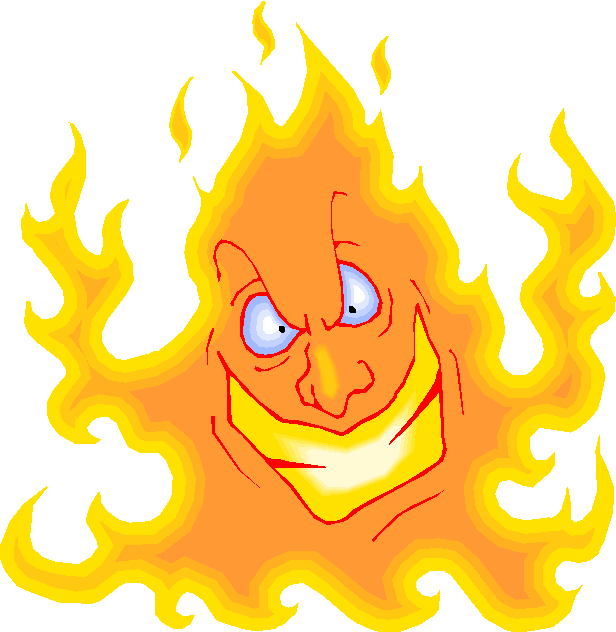 Scary Fire Free Clipart