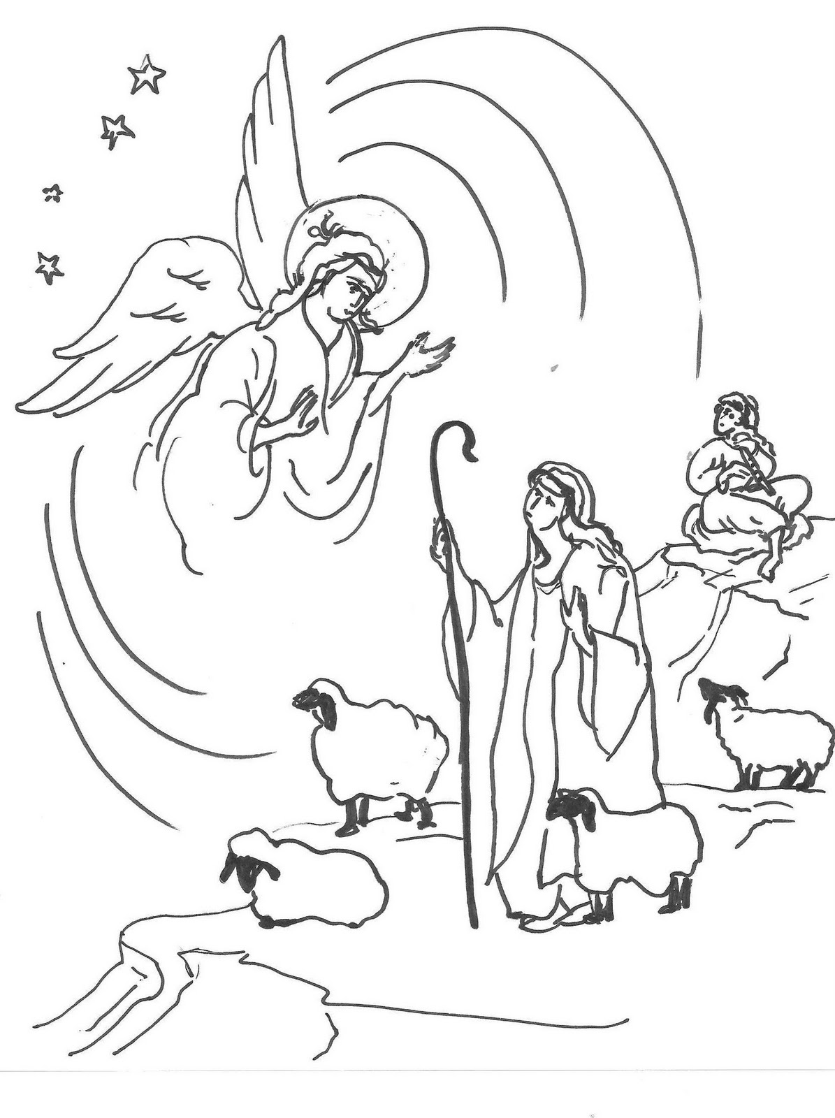 worship the lord coloring pages - photo#23