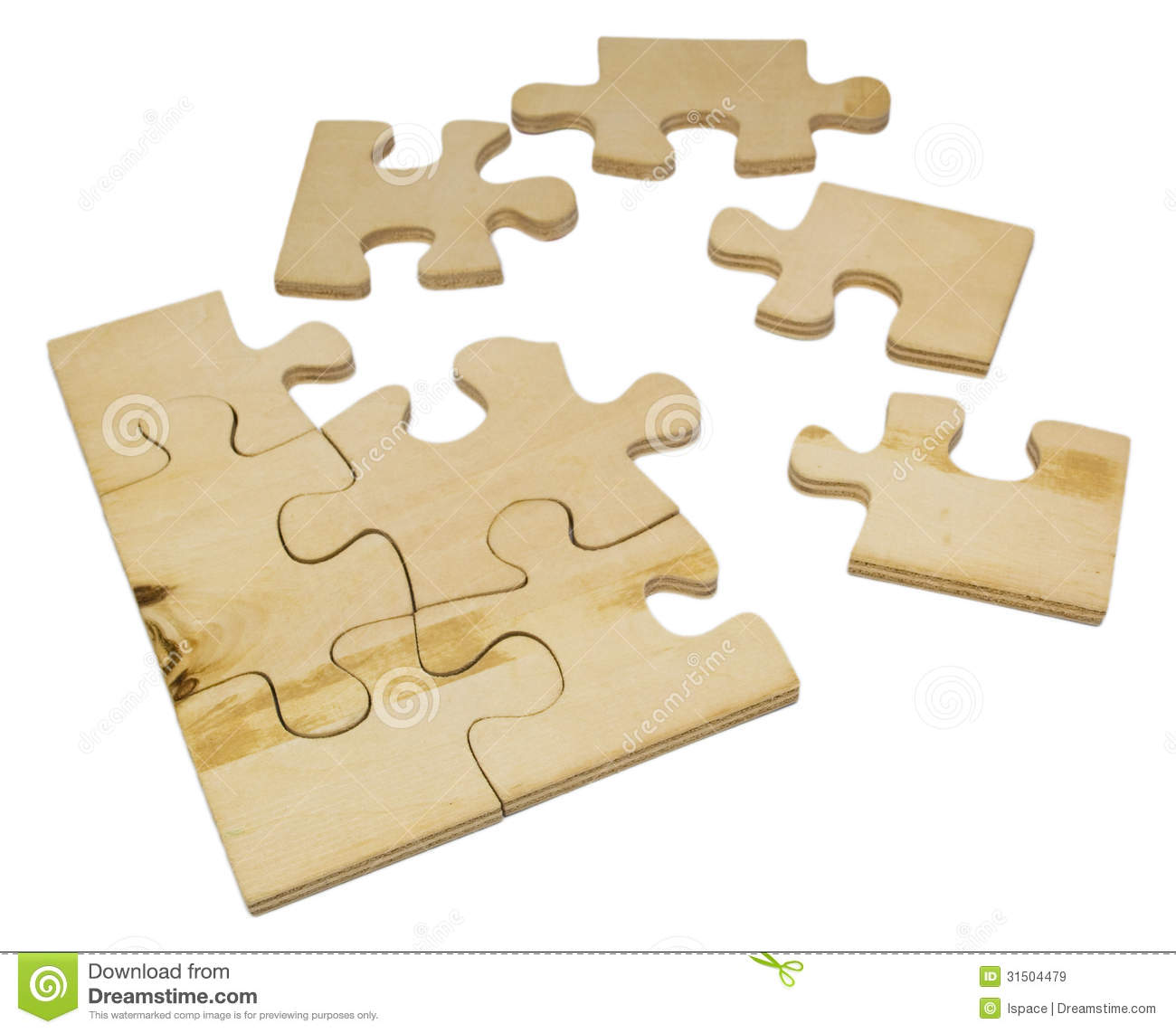 Wooden Puzzle Royalty Free Stock Images   Image  31504479