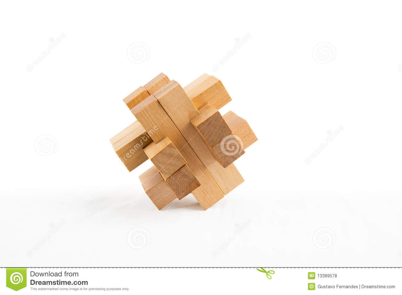 Wooden Puzzle Royalty Free Stock Photos   Image  13389578