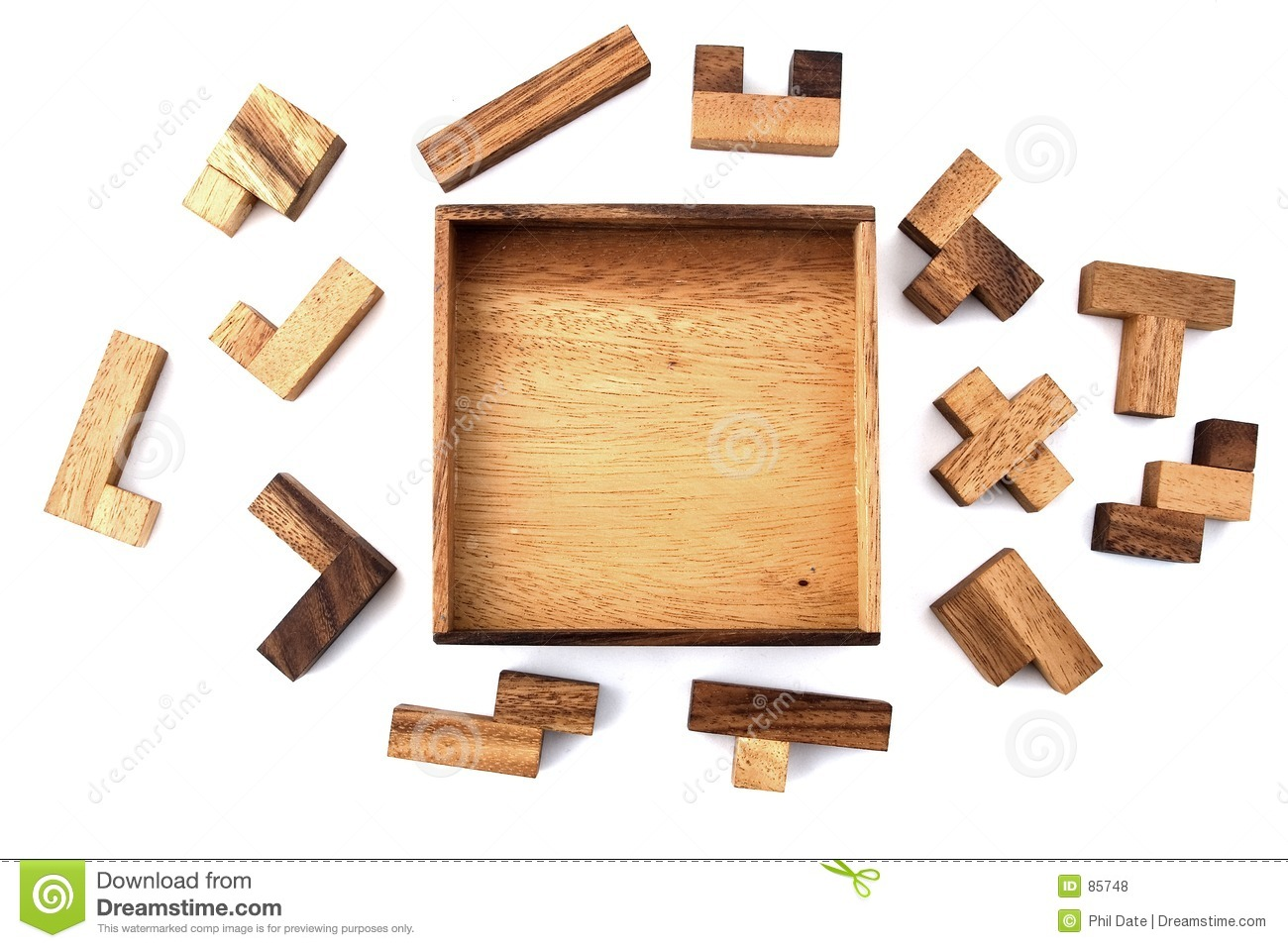 Wooden Puzzle Royalty Free Stock Photos   Image  85748