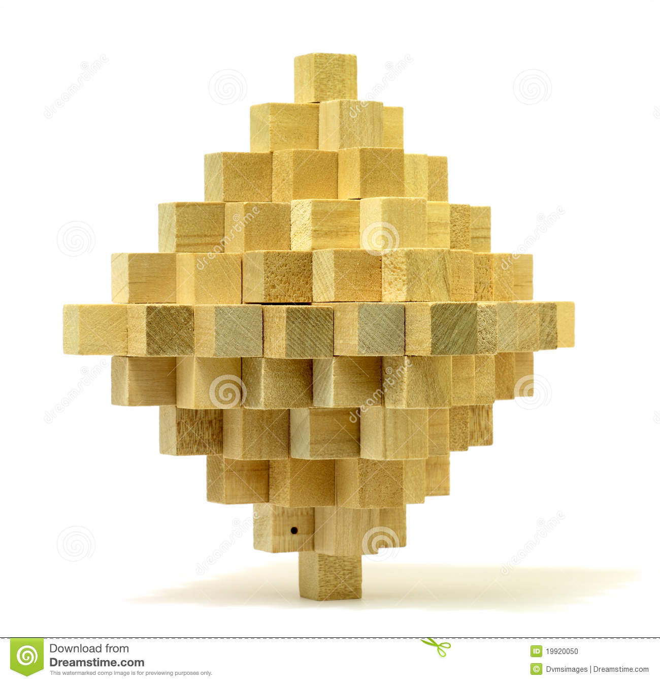 Wooden Puzzle Stock Photo   Image  19920050
