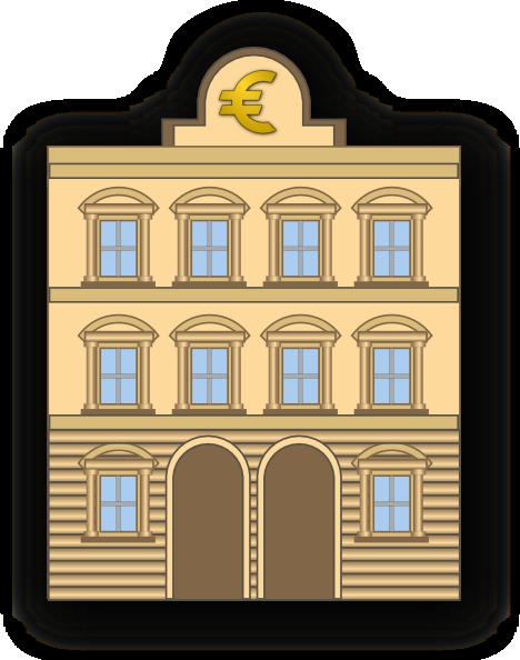 Bank Building Clipart - Clipart Kid