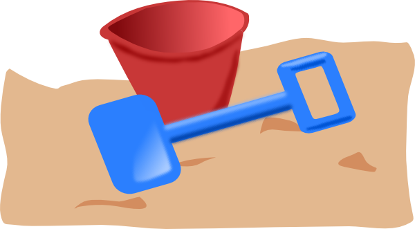 Bucket And Spade Clip Art At Clker Com   Vector Clip Art Online