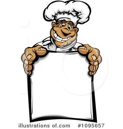 Chef Clipart  1095657   Illustration By Chromaco