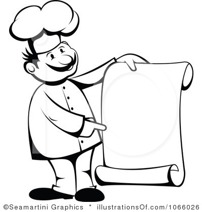 Chef Clipart Black And White   Clipart Panda   Free Clipart Images