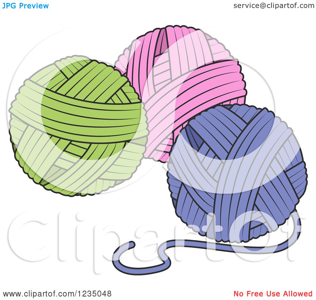 Knitting Yarn Clipart - Clipart Kid