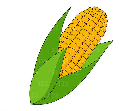 Sweet Corn Clipart - Clipart Kid