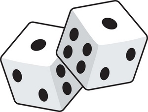 Dice Clipart Image   Dice With