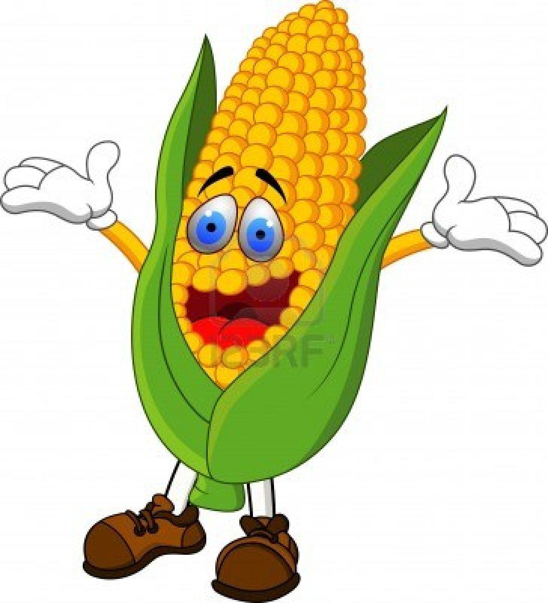 Cartoon Corn Clipart Clipart Suggest