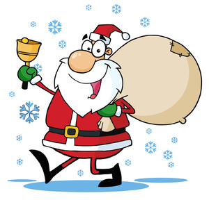Format Using Our Free Xmas Clipart Online Santa Says Please Link Back