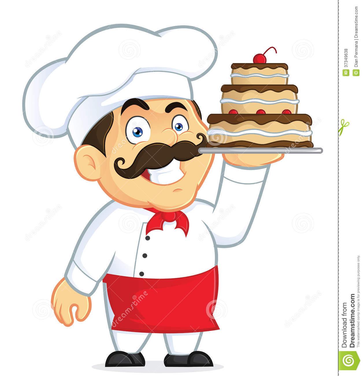 Italian Chef Clipart