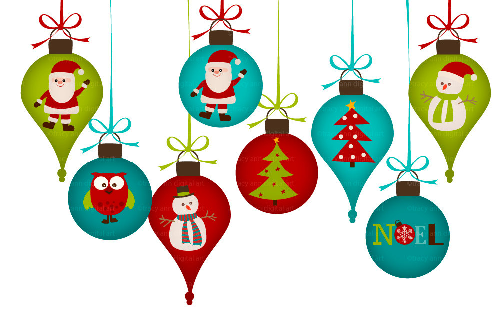 Clip Art Christmas Decorations Clipart christmas decorations clipart kid items similar to clip art png for commercial and