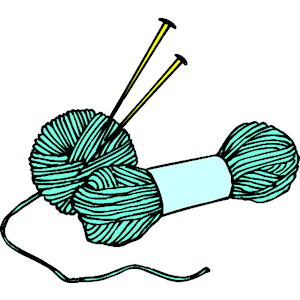 Knitting Needles   Yarn 2 Clipart Cliparts Of Knitting Needles   Yarn