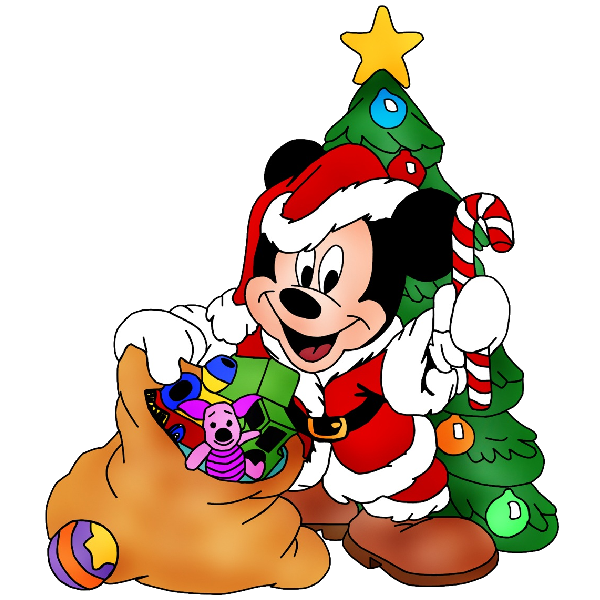 Mickey Mouse Xmas Clipart 15 Png