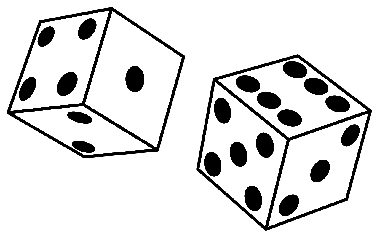 Image result for roll the dice clip art
