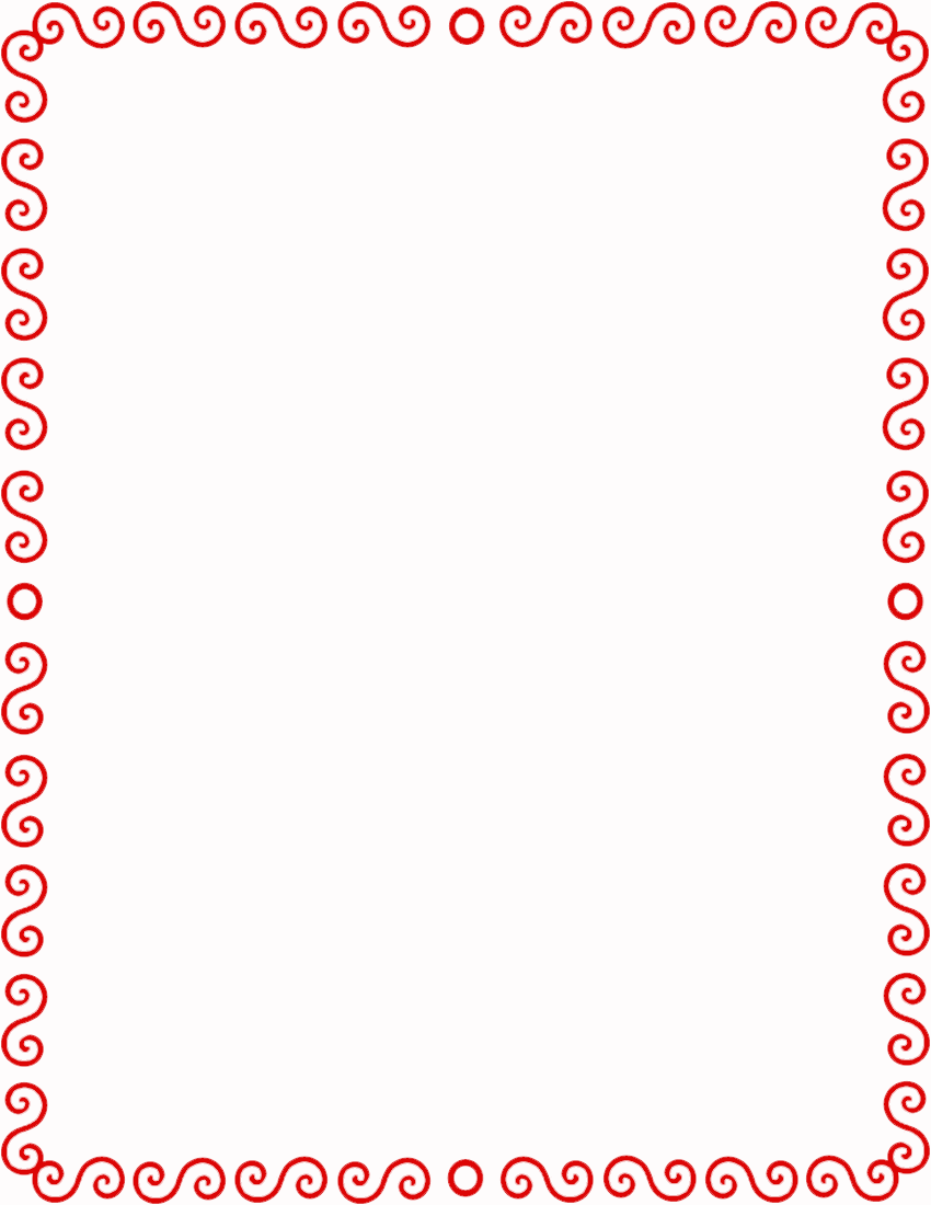 Page Frames Spiral Border S Spiral Edge S Spiral Border Red Png Html