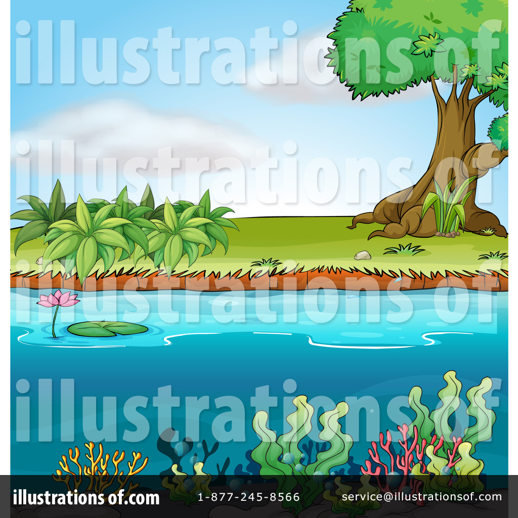 Pond Clipart  1163530   Illustration By Colematt