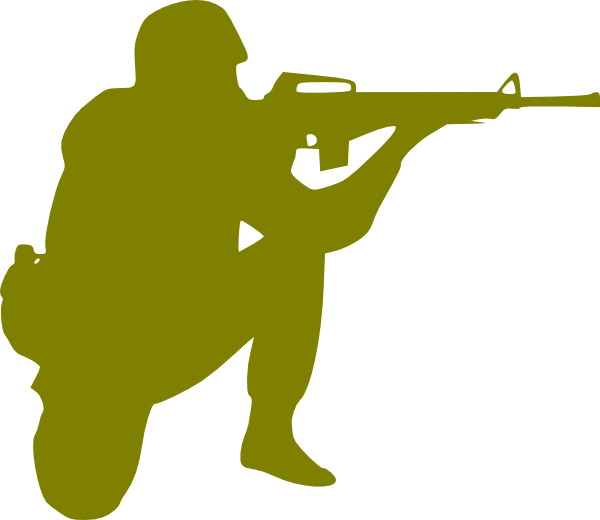 Soldier Clip Art At Clker Com   Vector Clip Art Online Royalty Free
