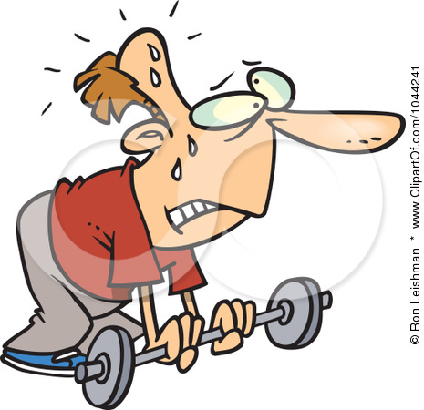 Weak Cartoon Man Clipart - Clipart - 68.6KB