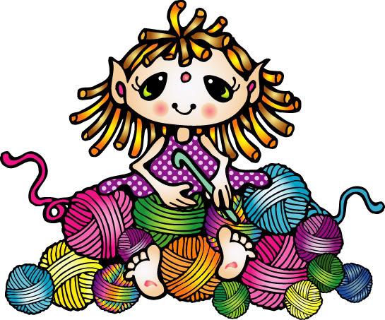 yarn clip art borders - photo #15