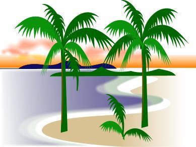 Florida Beach Scene Clipart - Clipart Kid