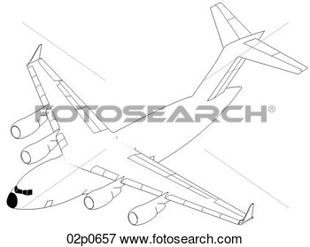 Clip Art   C 17 Perspective  Fotosearch   Search Clipart Illustration