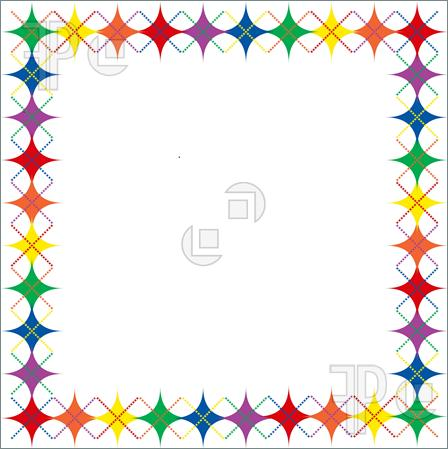Gold Star Border Clip Art Images amp Pictures Becuo