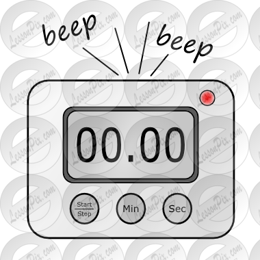 Picture For Classroom   Therapy Use   Great Digital Timer Clipart
