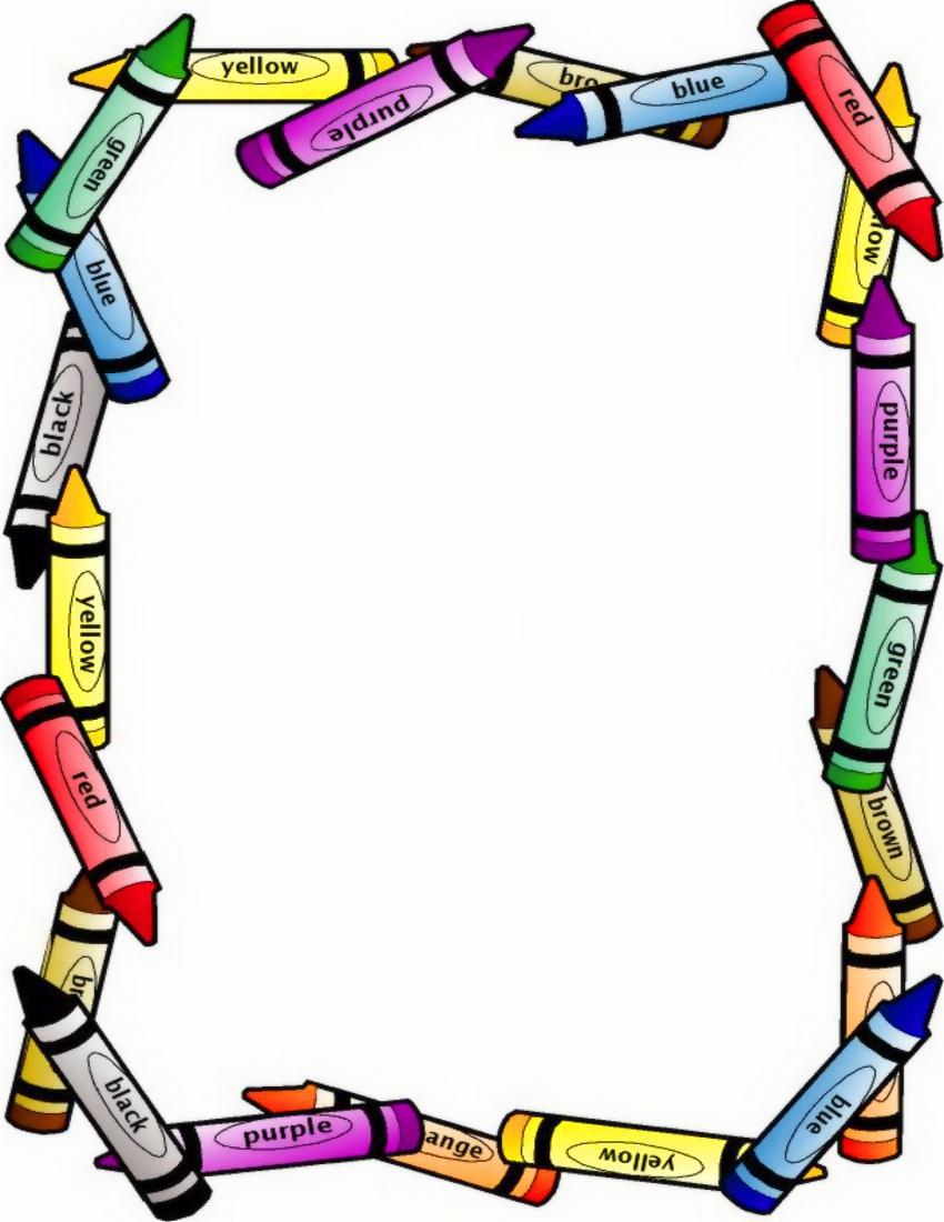 Preschool Border Clipart   Clipart Panda   Free Clipart Images