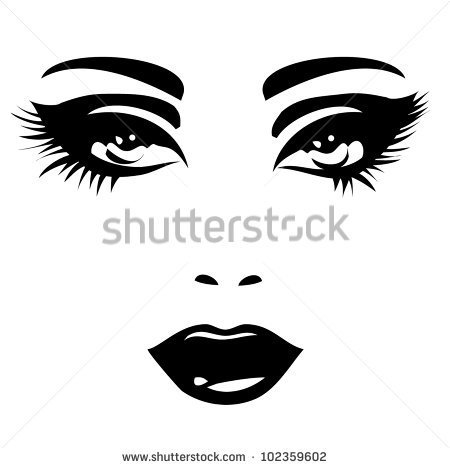 Woman Face Silhouette Stock Photos Images   Pictures   Shutterstock