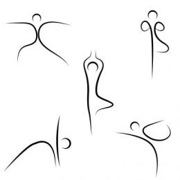 yoga stick figure clipart  clipart suggest