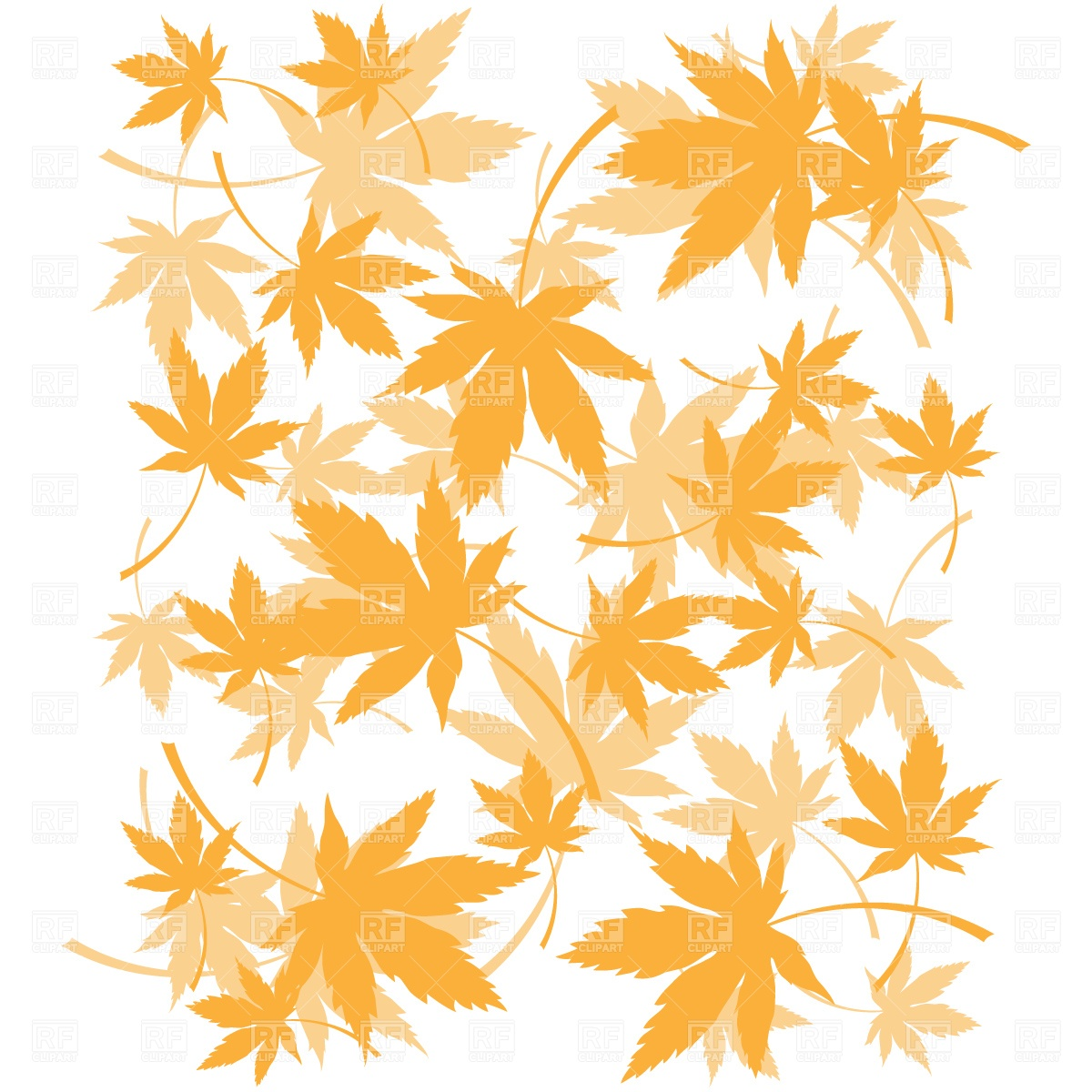 Leaves Transparent Background Clipart - Clipart Kid
