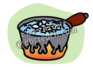 Clip Art  Basic Words  Boil Color Unlabeled   Preview 1