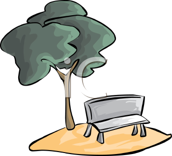 Park Bench Clipart - Clipart Kid