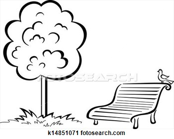 Park Black And White Clipart - Clipart Suggest Park Bench Clipart Black And White