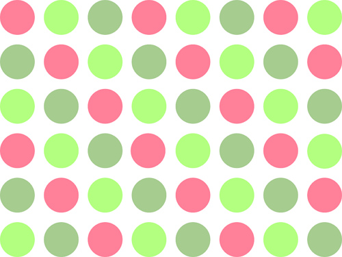 Pink And Green Polka Dot Background   Flickr   Photo Sharing