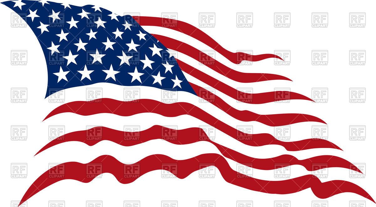 Waving American Stars And Stripes   Usa Flag 54419 Download Royalty