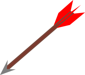 Clip Art Clipart Arrow archery arrow clipart kid clip art at clker com vector online royalty free