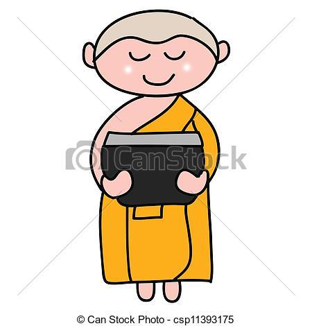 Buddhist Monk Clipart - Clipart Kid
