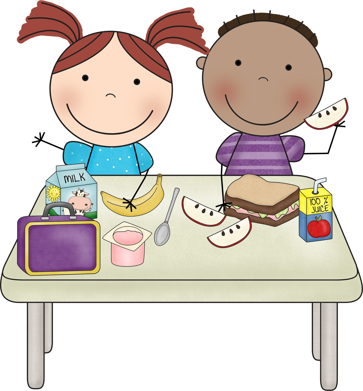 Snack Time Clipart