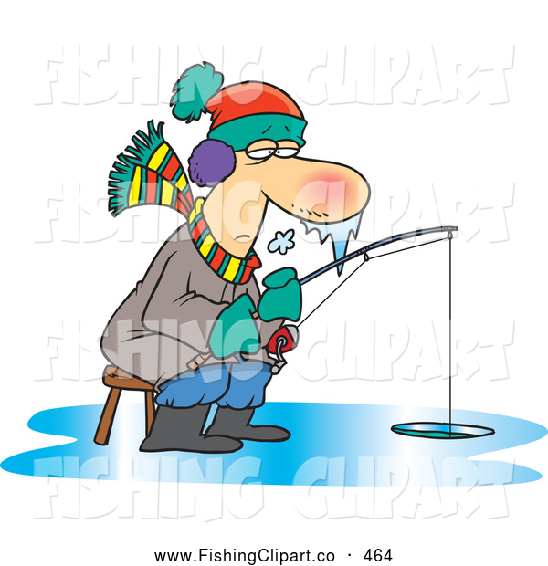 Ice Fisherman Clipart ...