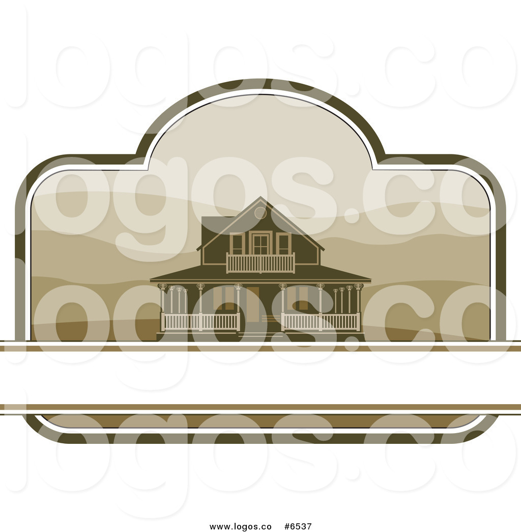 Country House Clipart A Country Farm House Logo