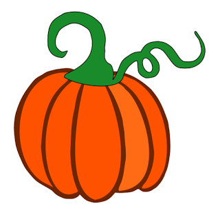 Download  Pumpkin With Just Stem  Svg