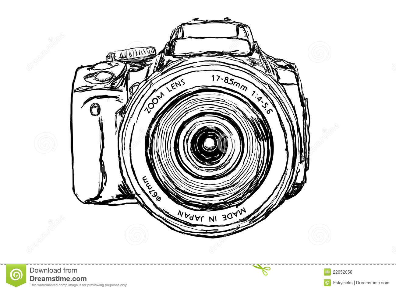 Dslr Camera Clipart Dslr Camera Front View 22052058 Jpg