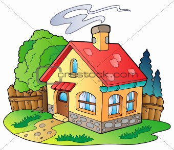 Image 3687566  Small Family House From Crestock Stock Photos